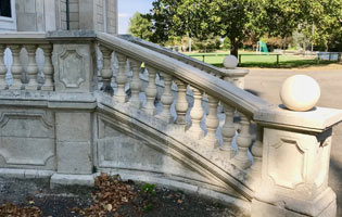 balustre de pierre